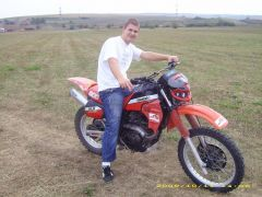 Eu pe moto