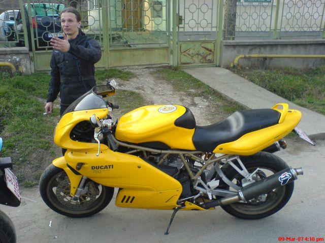 Ducati 750 super sport i.e.