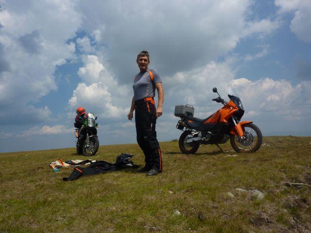 Transalpina si Transfagarasan pe KTM Adventure