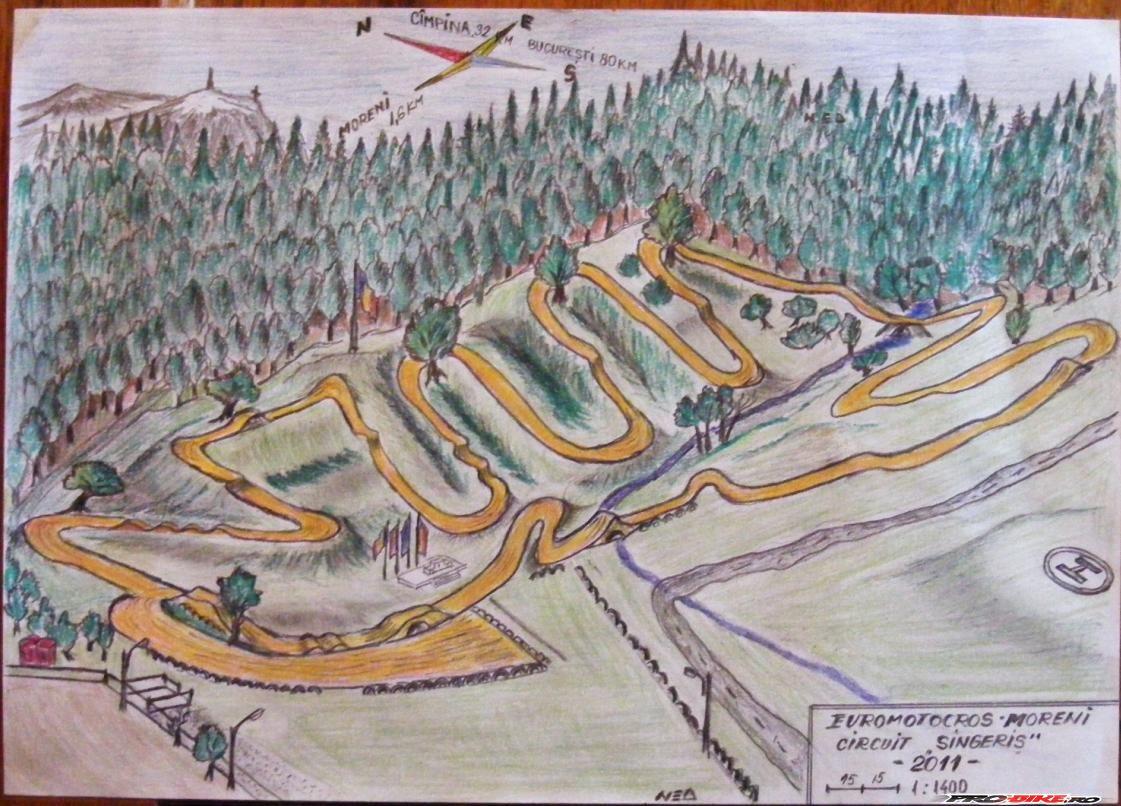 Circuit Motocross Moreni Romania 2