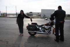Prima zi pe Harley Davidson