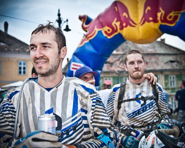 Claudius Vasilescu Day 4 Finish   Neaga Conopan