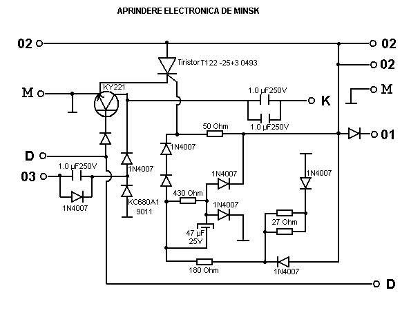 Schema instalatie electrica minsk